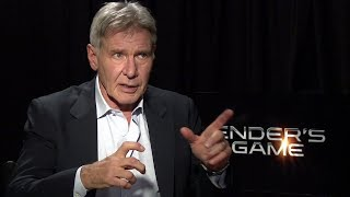 Harrison Ford Interview - Ender's Game (HD) JoBlo.com