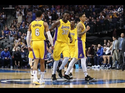 Lakers Win their 4th straight game vs the Mavericks on the raod!! Live with DTLF!!