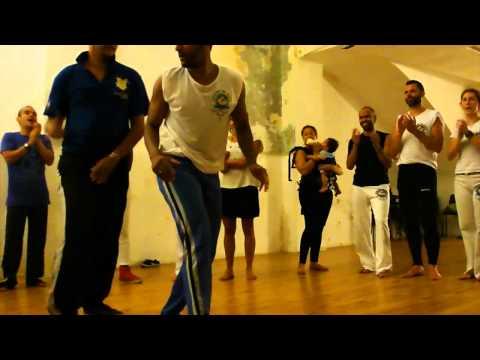2o Festival Saravá - Roda de abertura - Mestre Chicote e Mestre Ediandro (видео)