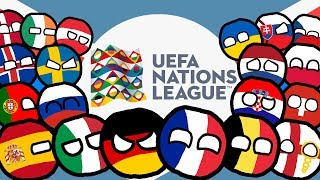 UEFA Nations League Predictions Marble Race 2018/19  | Who will win?
