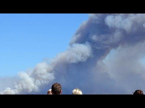 Εκτεταμένες πυρκαγιές καίνε δασικές εκτάσεις