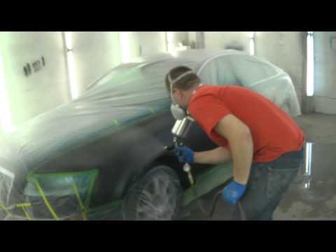 Покраска автомобиля видео ютуб