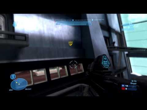 Halo: Reach Multiplayer HD Gameplay Part 2 - Team Slayer