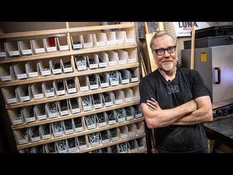 Adam Savage's One Day Builds: Workshop Hardware Storage!