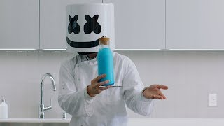 FORTNITE SHIELD POTION DIY | Cooking with Marshmello