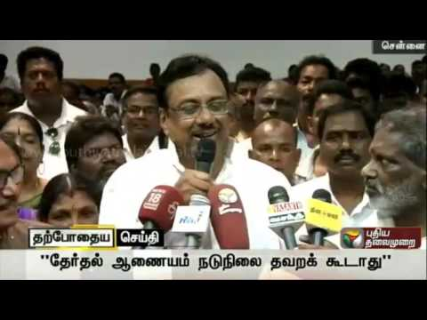 ADMK-changing-candidates-out-of-fear-of-losing-says-EVKS-Elangovan