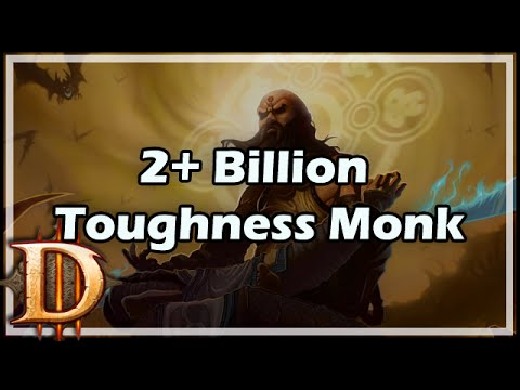 [Diablo 3] 2+ Billion Toughness Monk Build