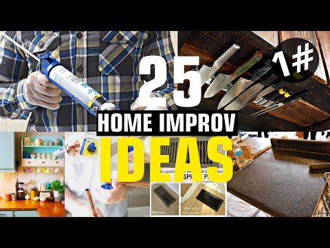 25 Home improvement ideas #1