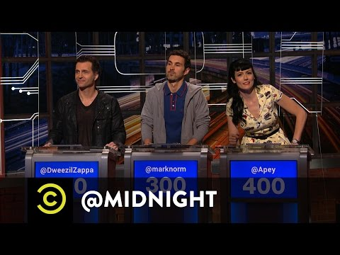 Trump Ignores Obama's Warning - @midnight with Chris Hardwick