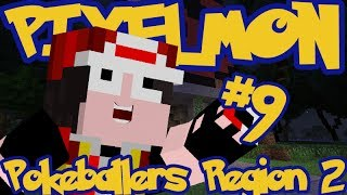 Minecraft Pixelmon: Pokeballers Server Region 2 - Episode 9 - PWNING 2ND GYM!!
