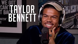 Hot 97 - Taylor Bennett Rhymes, Talks about Being Chance's Brother & More with Rosenberg
