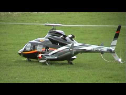 LX - My first flight with my new Bell 430 from Heli-Factory on a Flight Field near Lindlar in Germany. The Turbine is a JetCat PHT3-XL.