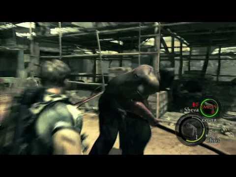 Геймплей Resident Evil 5 - Biohazard 5