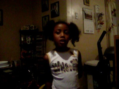 MY DAUGHTER EMIAYA AGE 6 SINGING TAKE A BOW BY RIHANNA