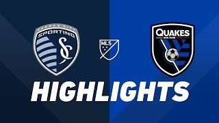 Sporting Kansas City vs. San Jose Earthquakes | HIGHLIGHTS - August 17, 2019 by Major League Soccer
