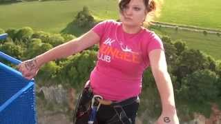 Chepstow United Kingdom  city images : Bungee Jump:- Highest in UK 400ft Backwards Jump ( Chepstow)