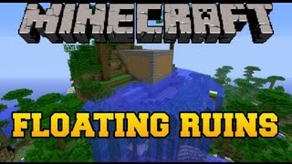 Minecraft Mod Showcase - Floating Ruins Mod - Mod Review