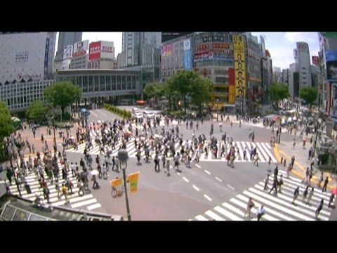 LIVE CAMERA - Shibuya scramble crossing