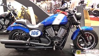 10. 2015 Victory Judge - Walkaround - 2014 EICMA Milan Motorcycle Exhibition
