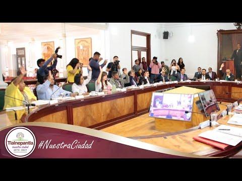 Cabildo H. Ayuntamiento de Tlalnepantla de Baz 18 septiembre del 2019