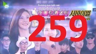 Running Man tập 259 - Running man ep 259 vietsub Full HD, running man, running man vietsub, running man full