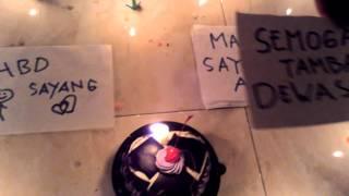 Kejutan untuk pacar LDR saat ulang tahun