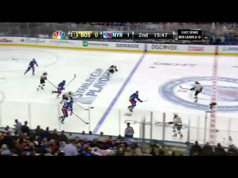 Taylor Pyatt tip in goal 1-0 May 21 2013 Boston Bruins vs NY Rangers NHL Hockey_Ice hockey. NHL, National Hockey League best videos. Sport of USA, NHL