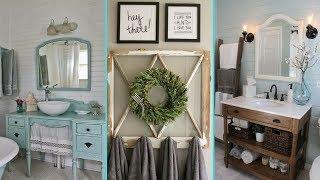 ❤DIY Shabby chic style  Bathroom decor & Organization Ideas ❤| Home decor | Flamingo Mango|