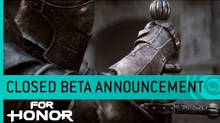 Pledge your sword in the For Honor closed beta