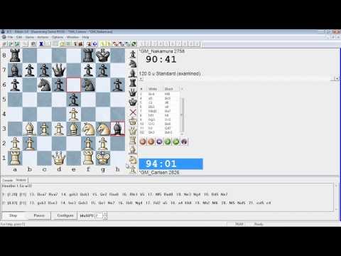 London Chess Classic IM Commentary Carlsen – Nakamura