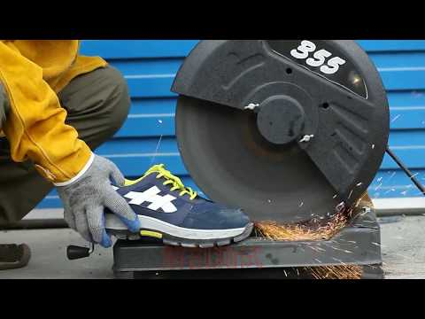 Steel Baotou puncture-proof and penetration leather shoes
