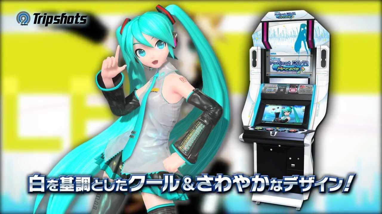 วิดีโอโชว์ระบบใหม่ๆบน Project Diva Arcade Version B