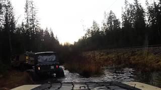 Off-roading in Borås Sweden
