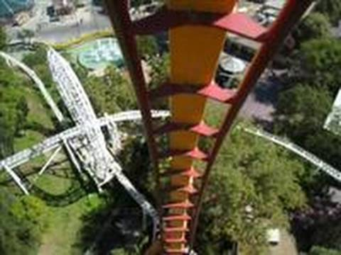 six flags magic mountain - Tatsu isn't as new as Manta, but many enthusiasts think it's still the best flying coaster in the world. With all that height & the monster 124 foot pretzel ...