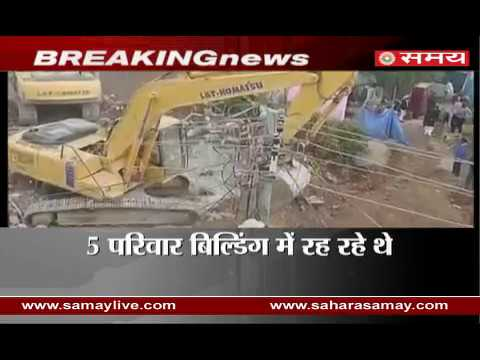 One killed from a seven-story building collapse in Hyderabad