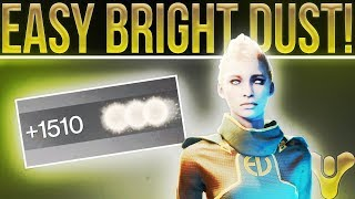 Destiny 2. EASY BRIGHT DUST! (Three Of Coins Confirmed Not Working, Farming Masterworks & More!)