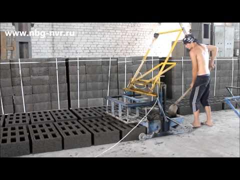Как изготовить своими руками блоки для строительства