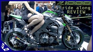 2. 2015 Kawasaki Z1000 High Speed Ride and Review | RWR