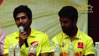 CCL 5 Chennai Rhinos Team Press Meet