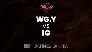 WG.Y vs IQ, Manila Masters SEA qual, game 2 [Tekcac]