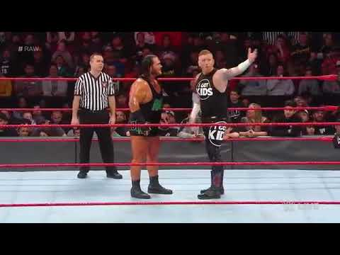 Heath slater Vs Rhyno loser gets fired WWE raw 3 December 2018