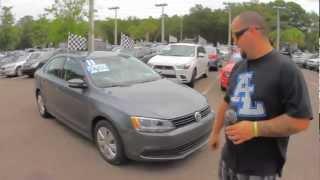 Autoline's 2011 Volkswagen Jetta Sedan 2.5 SE Walk Around Review Test Drive
