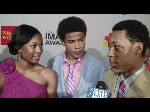 Disney's Let It Shine Cast : NAACP Nominees Luncheon Behind the Scenes