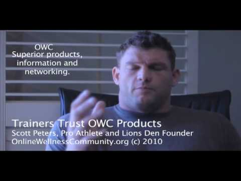 0 Former NFL Pro and Elite Athlete Trainer Scott Peters of Lions Den on OWC