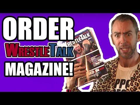 Order WrestleTalk Magazine #4 NOW!