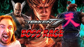 Video BOSS RAGE: Shin Akuma & Devil Kazuya (Tekken 7) MP3, 3GP, MP4, WEBM, AVI, FLV Juli 2019