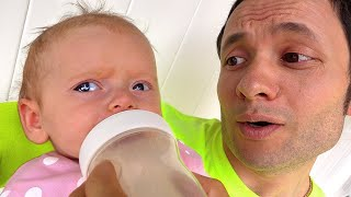 Lullaby song from Daddy Cancion Infantiles de Maya and Mary Nursery Rhymes
