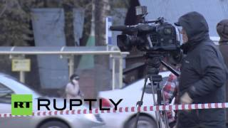 Krasnogorsk Russia  city photos : Russia: Krasnogorsk double shooting site secured by police