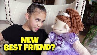 JILLIAN'S NEW BEST FRIEND!!!  EvanTubeHD Action Figure is Finally Here!