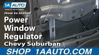 why won\u0027t my window roll up or down? driver door side glass is the